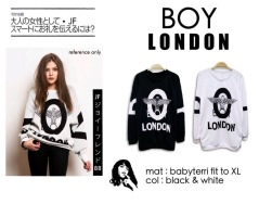 BOY London Sweater - ecer@57rb - seri4pcs 208rb - bahan babyterri - fit to XL(1)