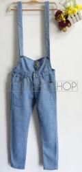 [IMPORT] Emily Dungaree - ecer@135rb - seri4pcs(2ukuran) 520rb - jeans tebal - fit to M&L